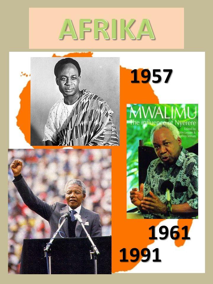 AFRIKA 1957 1961 1991