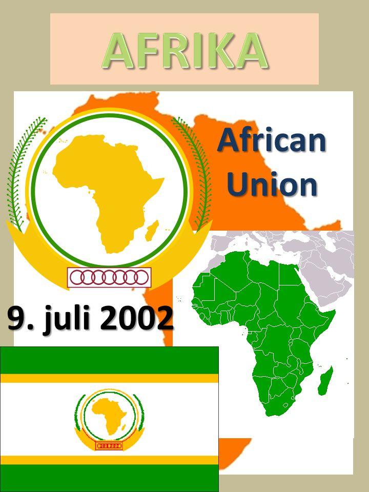 AFRIKA African Union 9. juli 2002