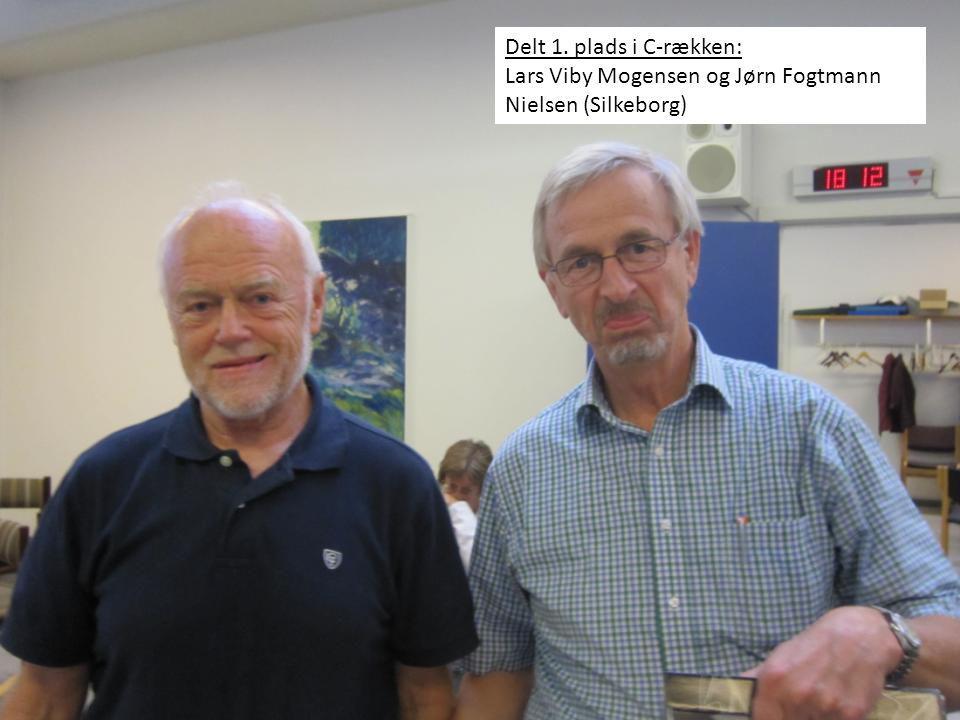 Delt 1. plads i C-rækken: Lars Viby Mogensen og Jørn Fogtmann Nielsen (Silkeborg)