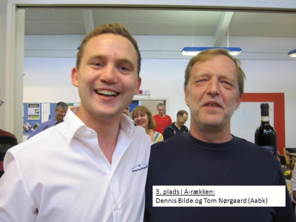 3. plads i A-rækken: Dennis Bilde og Tom Nørgaard (Aabk)