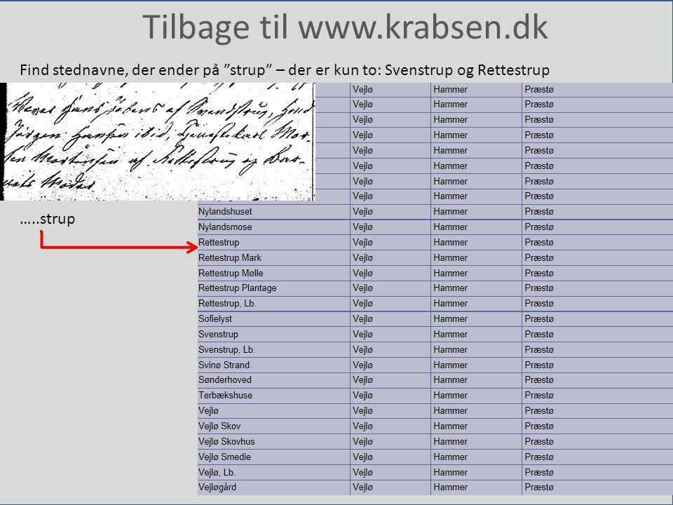 Tilbage til www.krabsen.dk