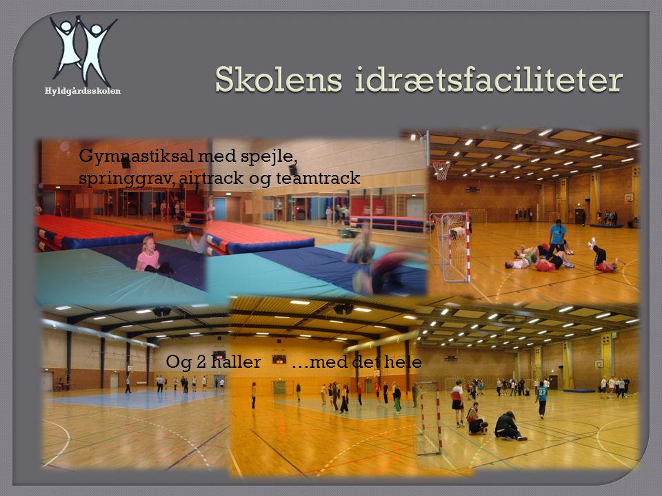 Skolens idrætsfaciliteter