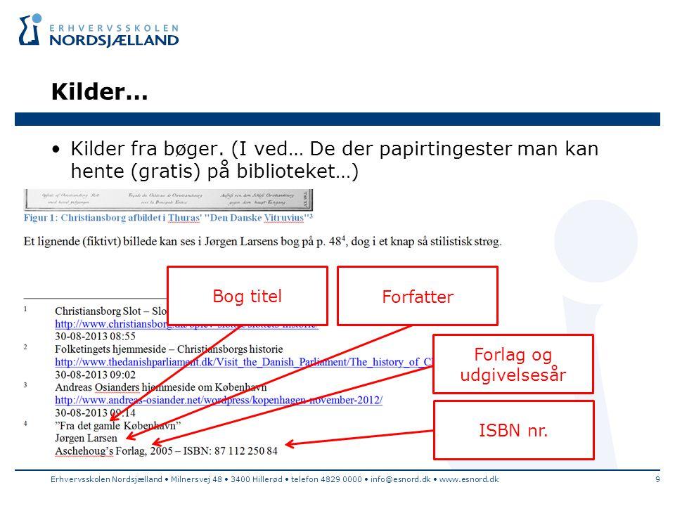 Forlag og udgivelsesår