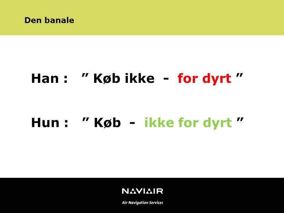 Sproglige misforståelser i luftfarten