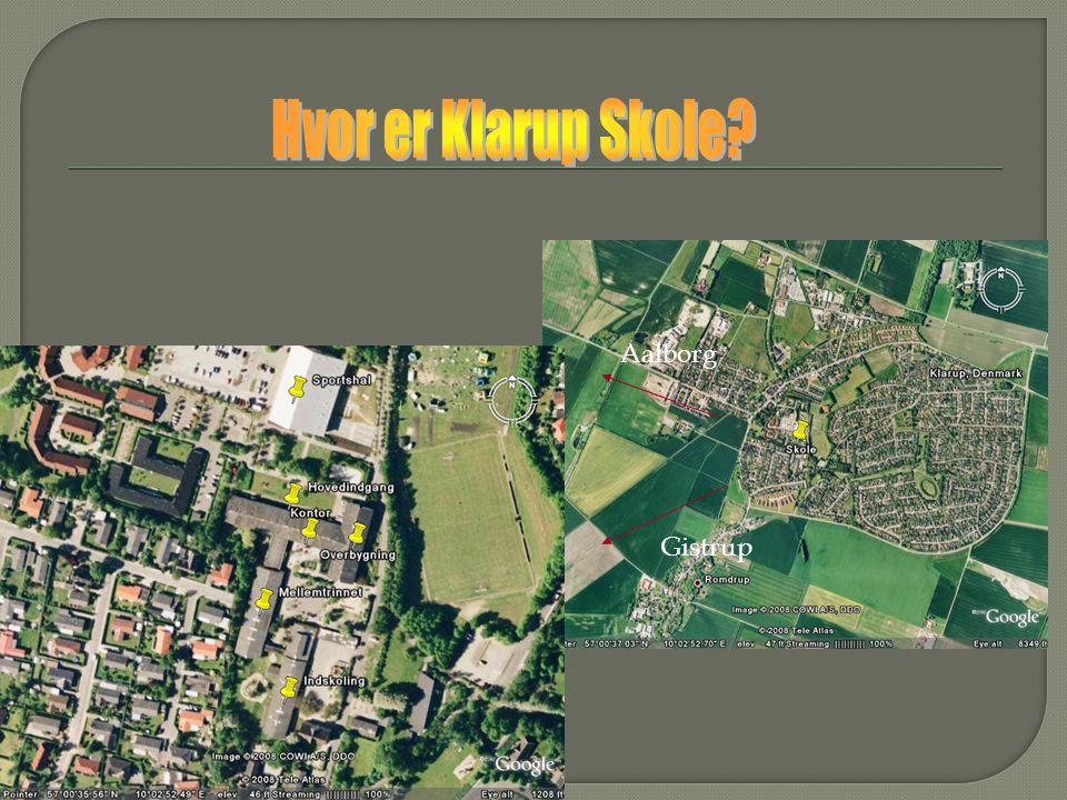 Hvor er Klarup Skole Aalborg Gistrup