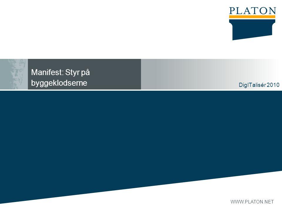 Manifest: Styr på byggeklodserne