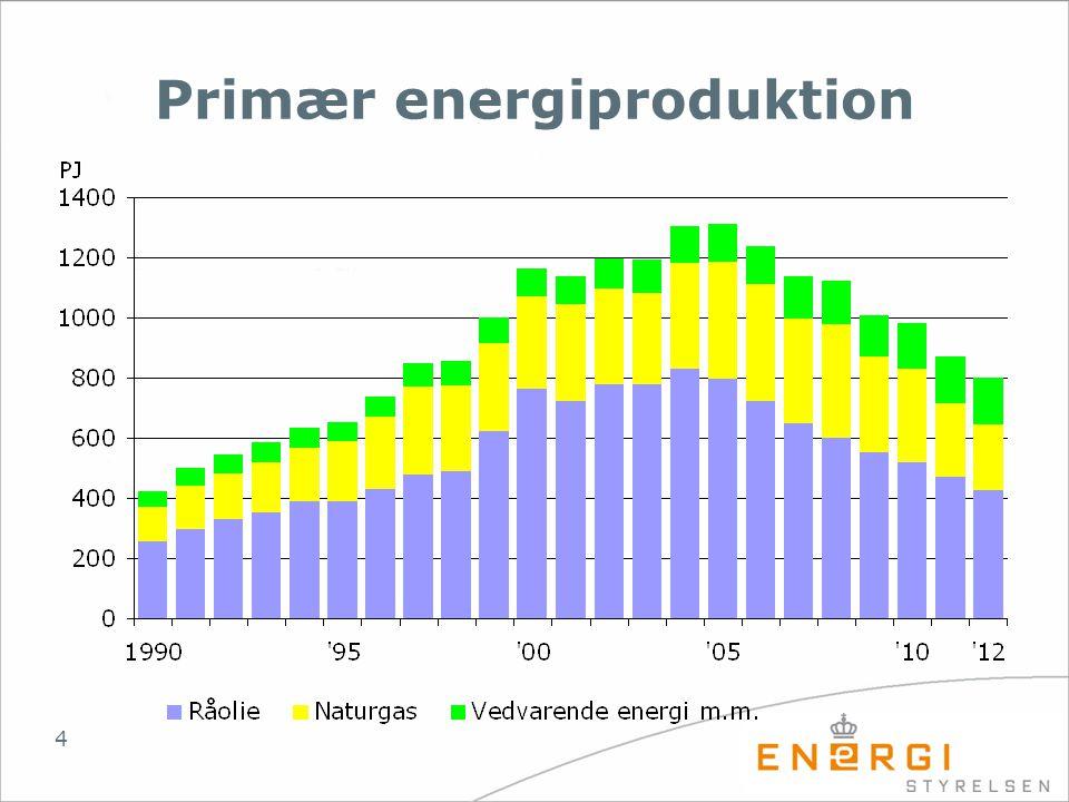 Primær energiproduktion