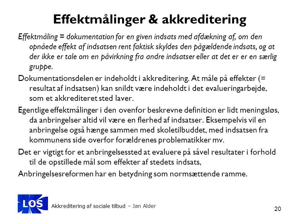 Effektmålinger & akkreditering