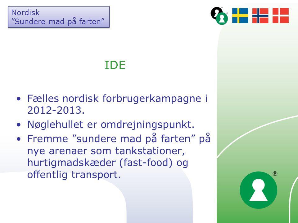 IDE Fælles nordisk forbrugerkampagne i 2012-2013.