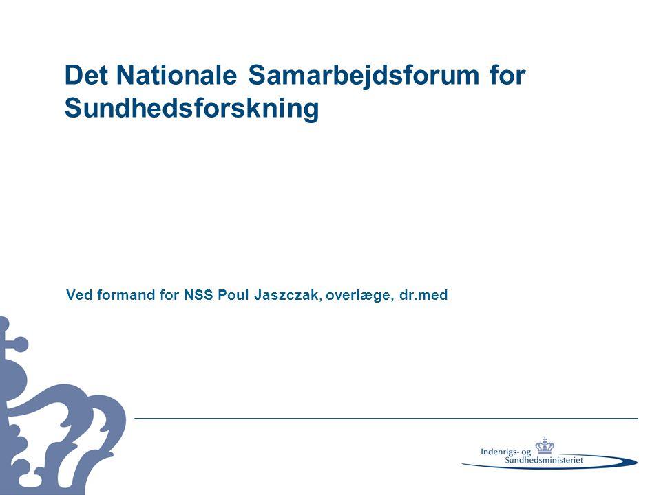 Det Nationale Samarbejdsforum for Sundhedsforskning