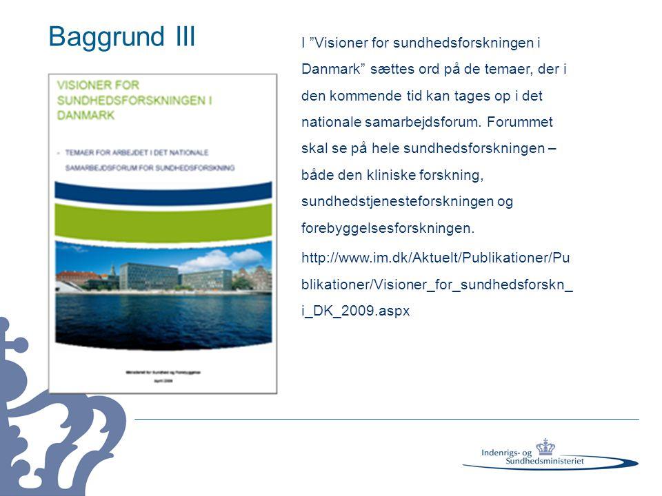 Baggrund III