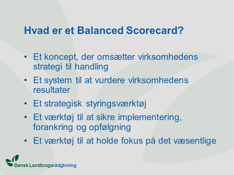 Hvad er et Balanced Scorecard