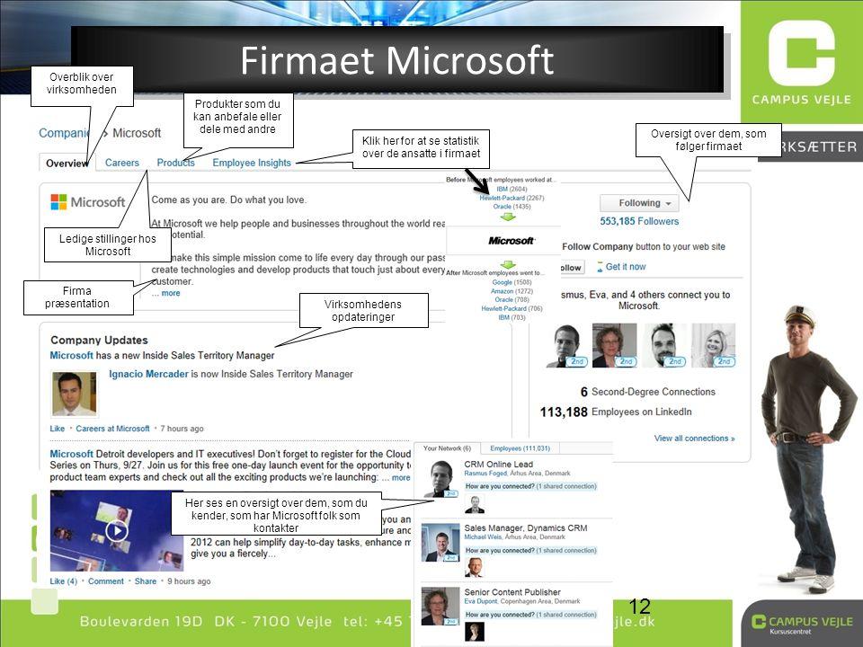 Firmaet Microsoft Overblik over virksomheden