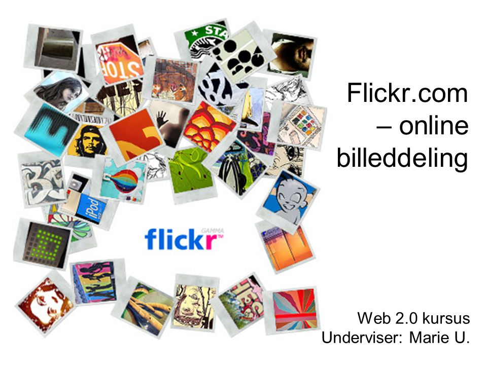 Flickr.com – online billeddeling