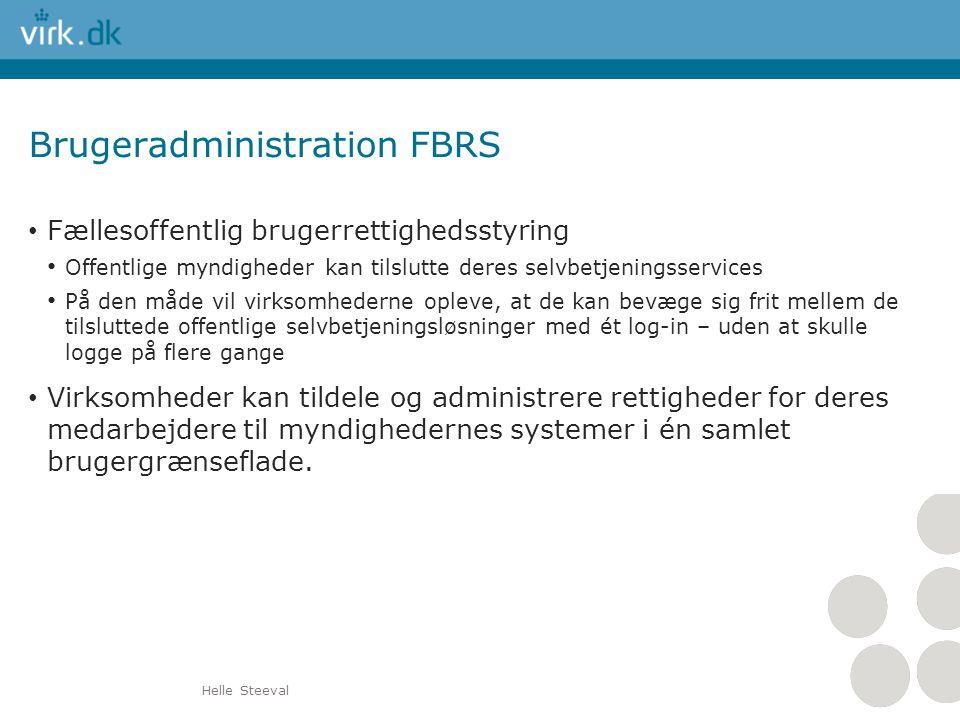 Brugeradministration FBRS