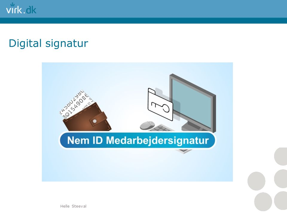 Digital signatur Helle Steeval