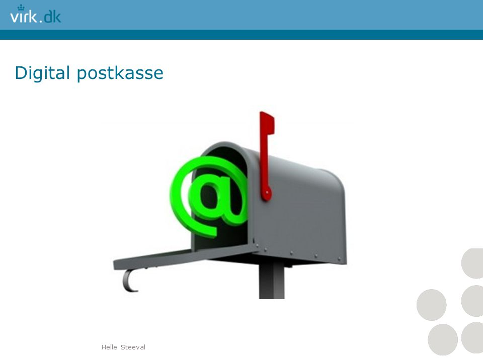 Digital postkasse Helle Steeval