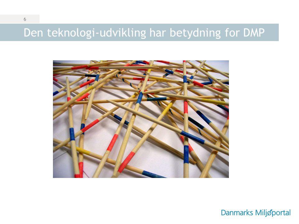 Den teknologi-udvikling har betydning for DMP
