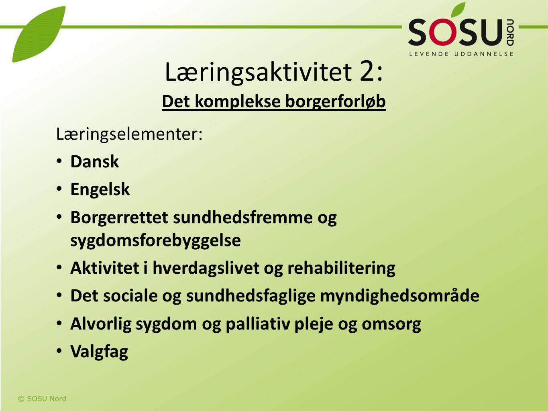 Læringsaktivitet 2: Det komplekse borgerforløb