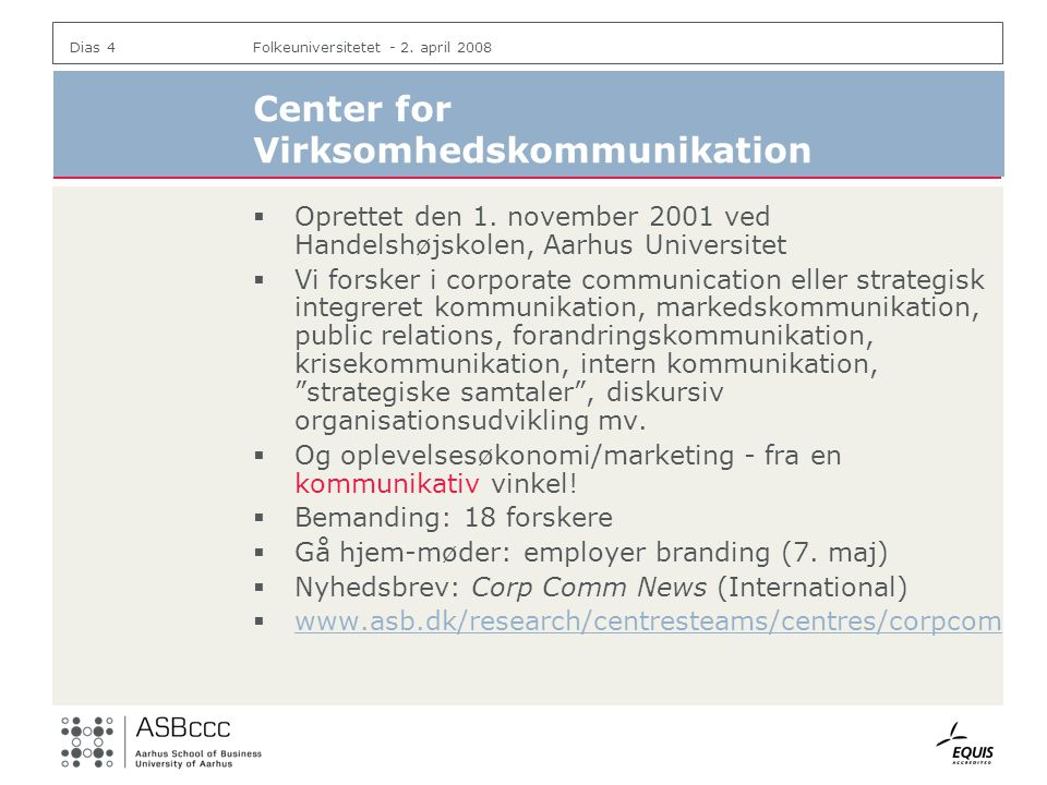 Center for Virksomhedskommunikation