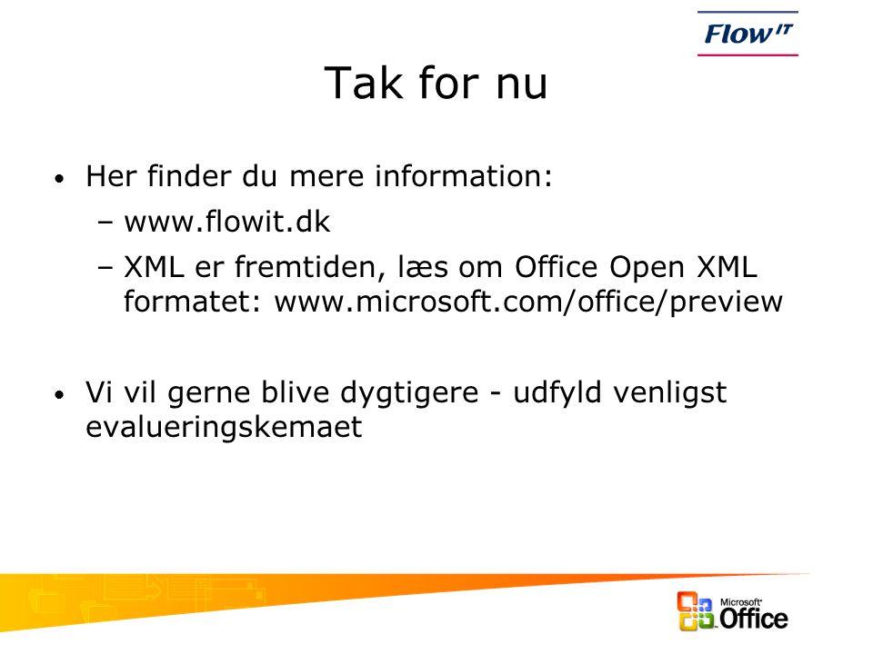 Tak for nu Her finder du mere information: www.flowit.dk