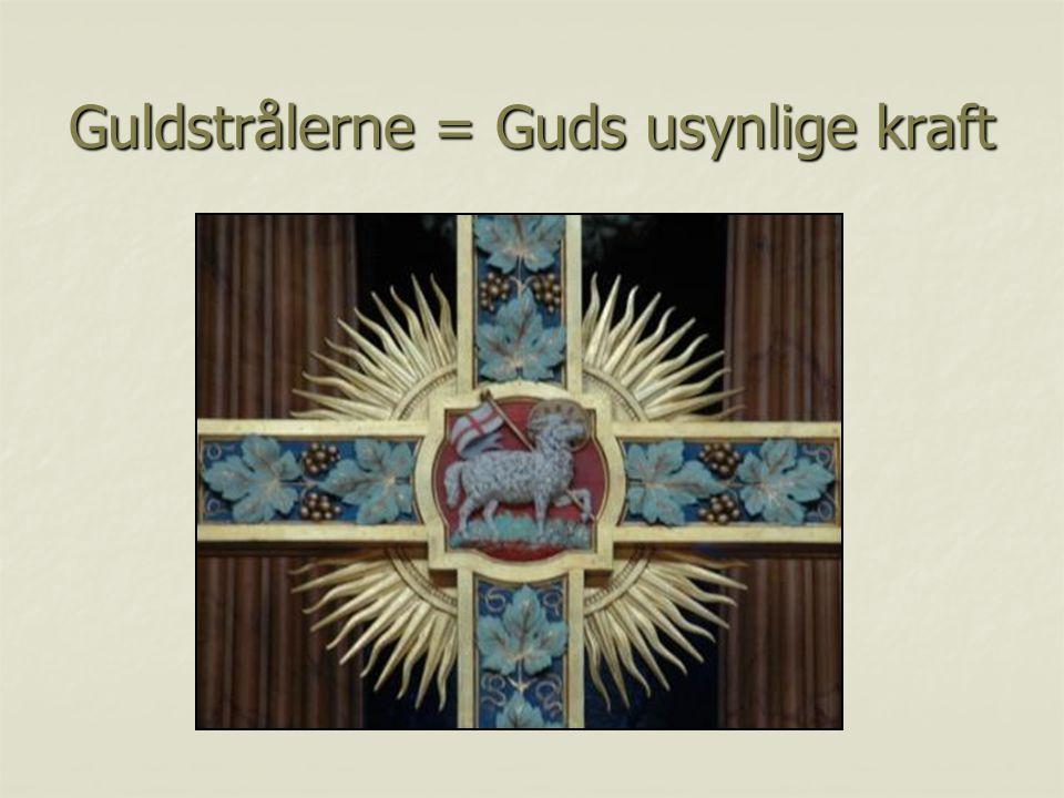 Guldstrålerne = Guds usynlige kraft