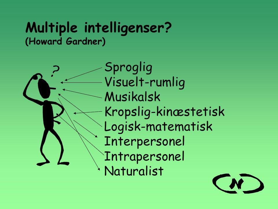 Multiple intelligenser