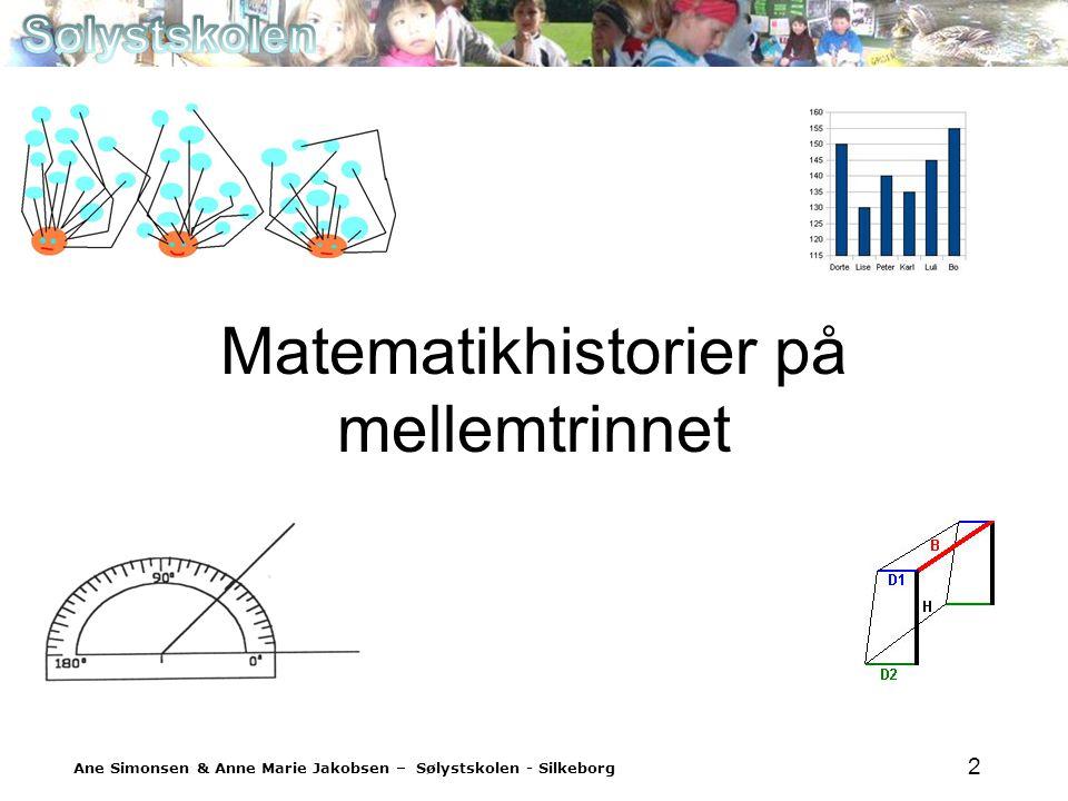 Matematikhistorier på mellemtrinnet