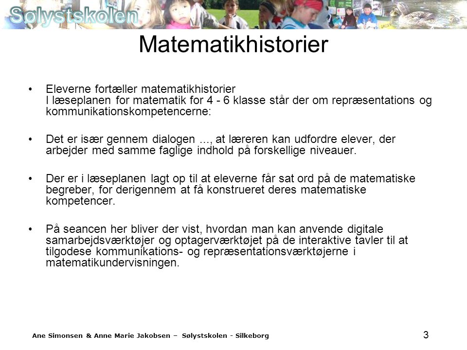 Matematikhistorier