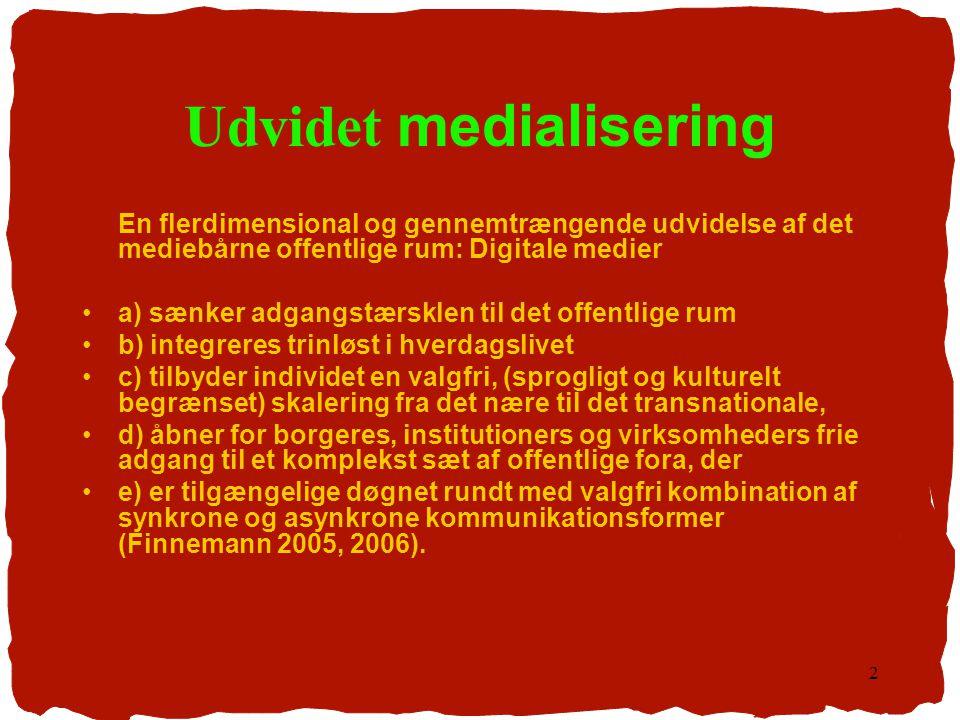 Udvidet medialisering