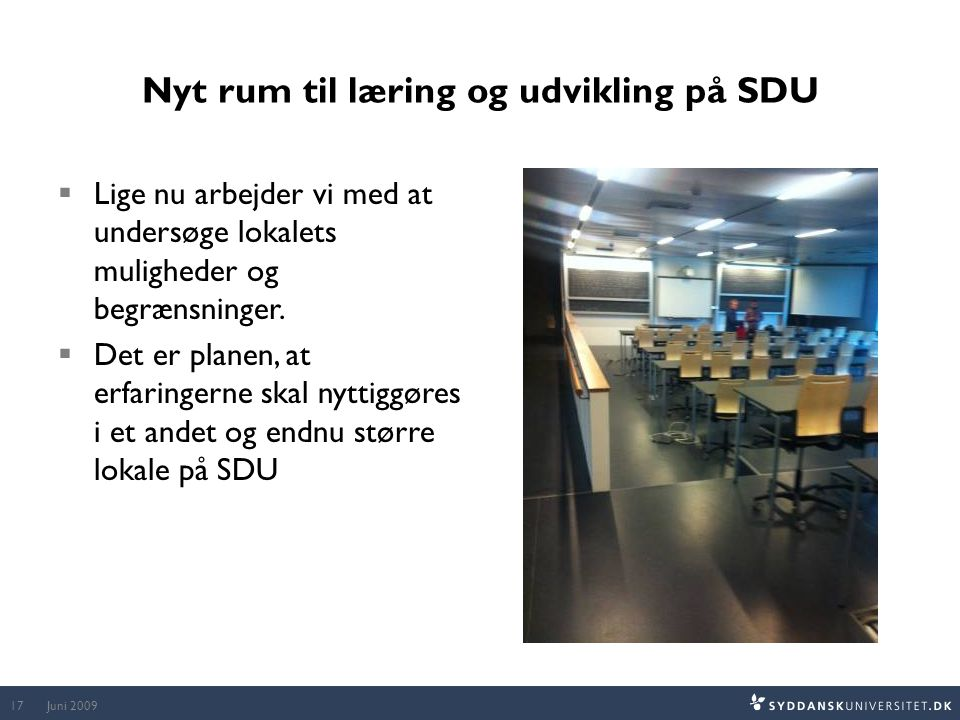Nyt rum til læring og udvikling på SDU