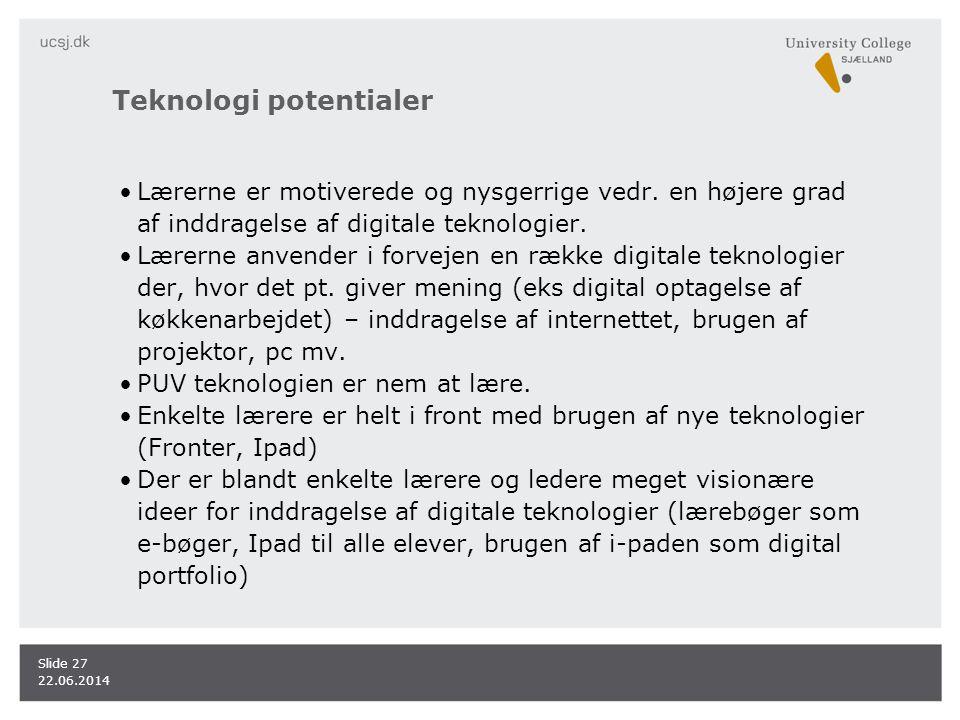 Teknologi potentialer
