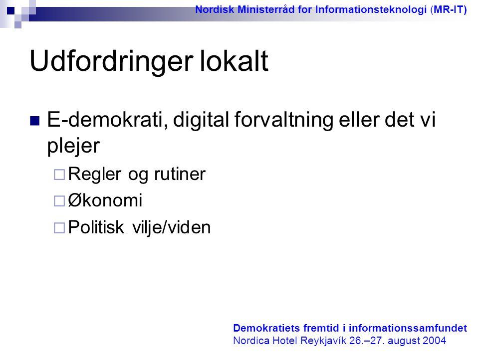 Nordisk Ministerråd for Informationsteknologi (MR-IT)