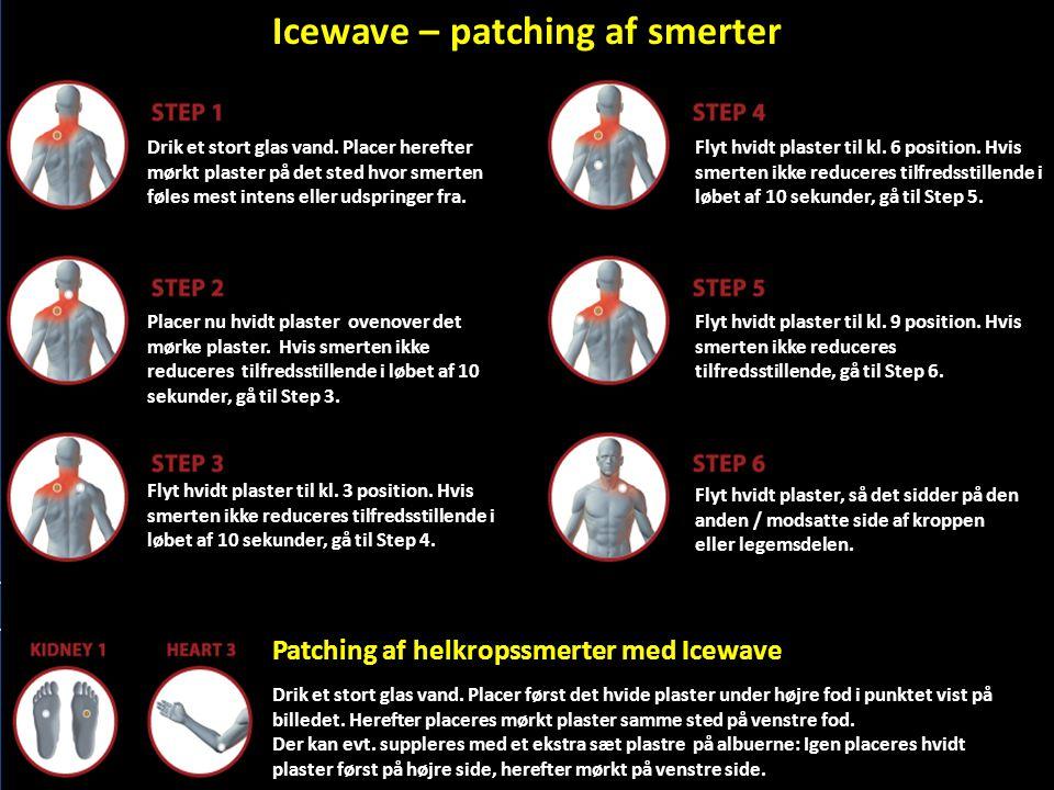 Icewave – patching af smerter