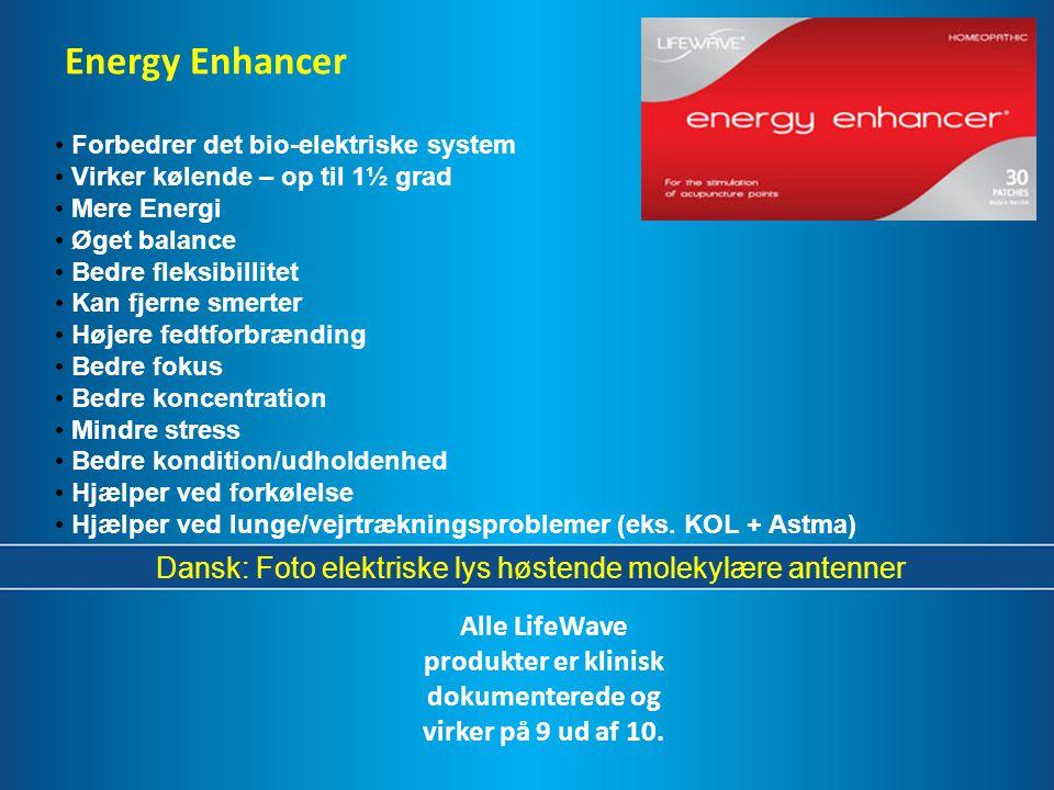 Dansk: Foto elektriske lys høstende molekylære antenner