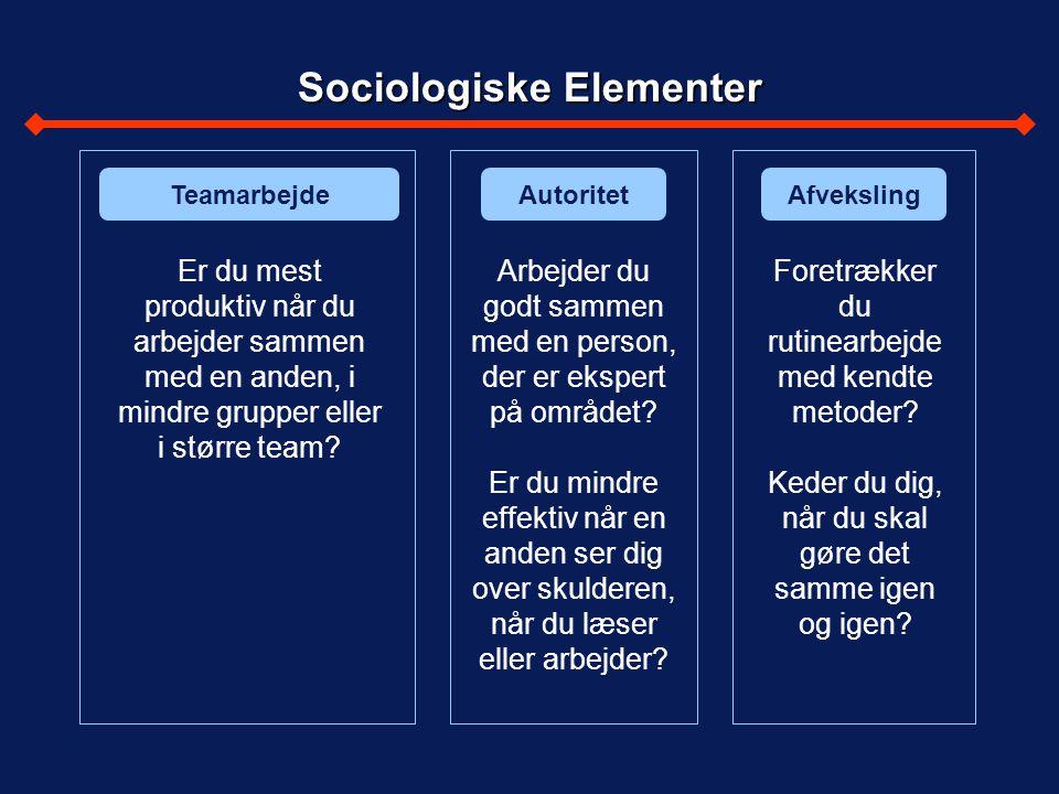 Sociologiske Elementer