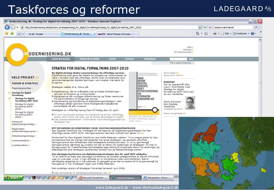 Taskforces og reformer