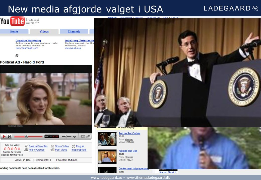 New media afgjorde valget i USA