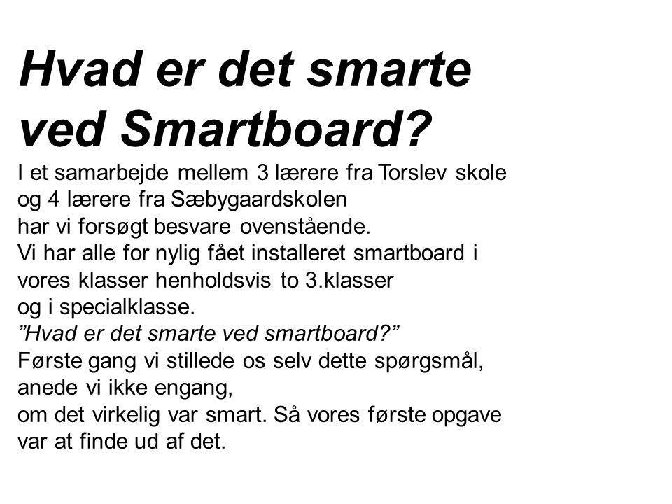 Hvad er det smarte ved Smartboard