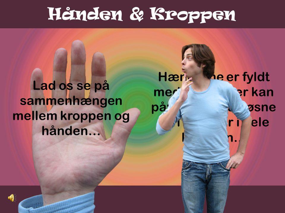 Lad os se på sammenhængen mellem kroppen og hånden…