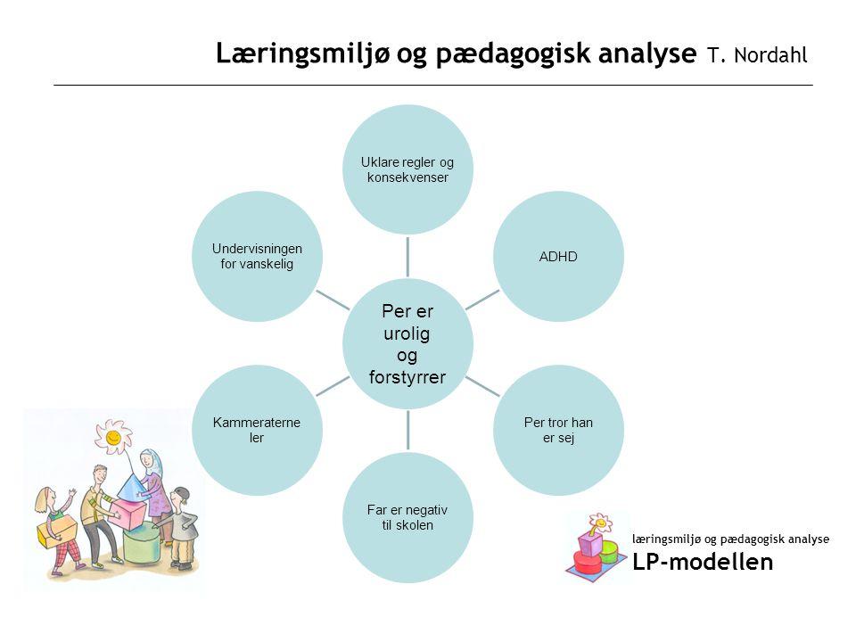 Læringsmiljø og pædagogisk analyse T. Nordahl