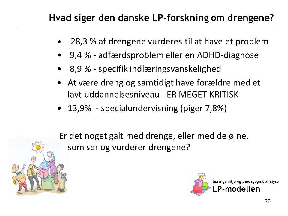Hvad siger den danske LP-forskning om drengene