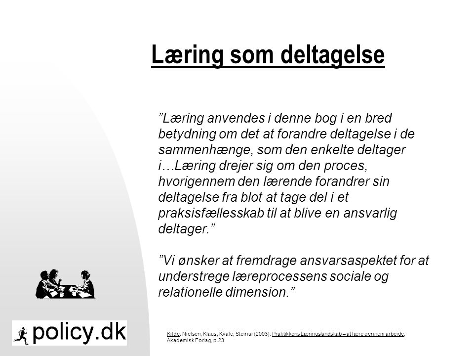 Læring som deltagelse