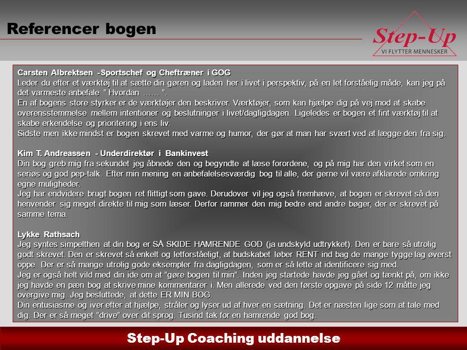 Referencer bogen Carsten Albrektsen -Sportschef og Cheftræner i GOG