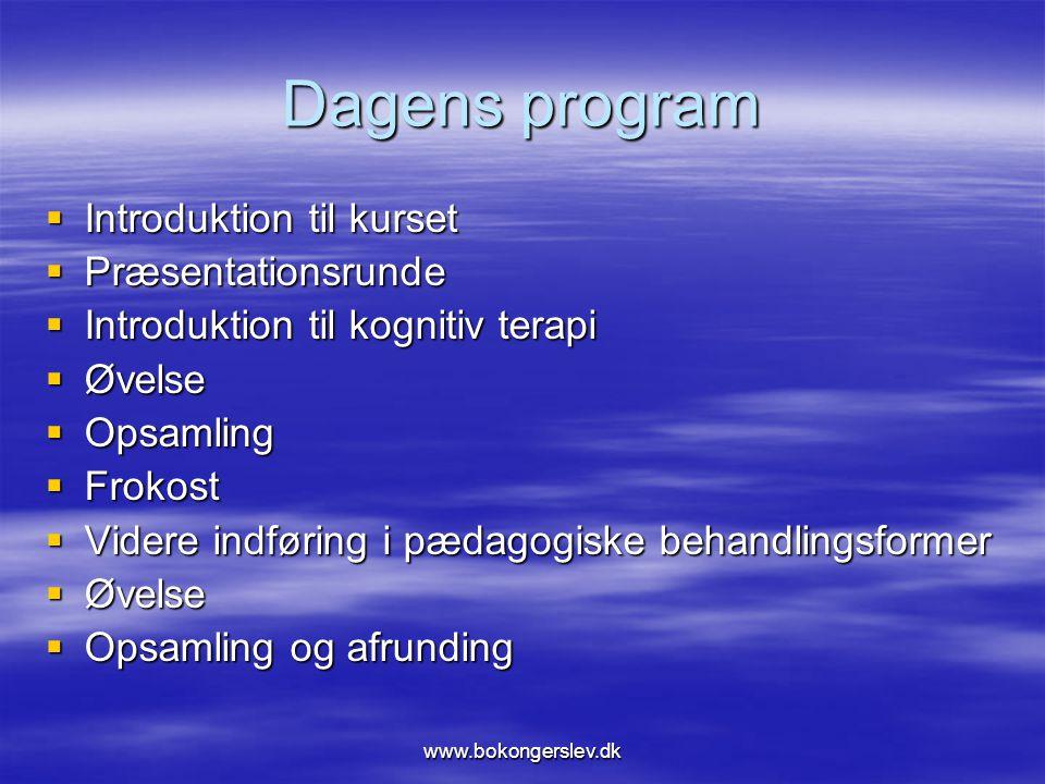 Dagens program Introduktion til kurset Præsentationsrunde