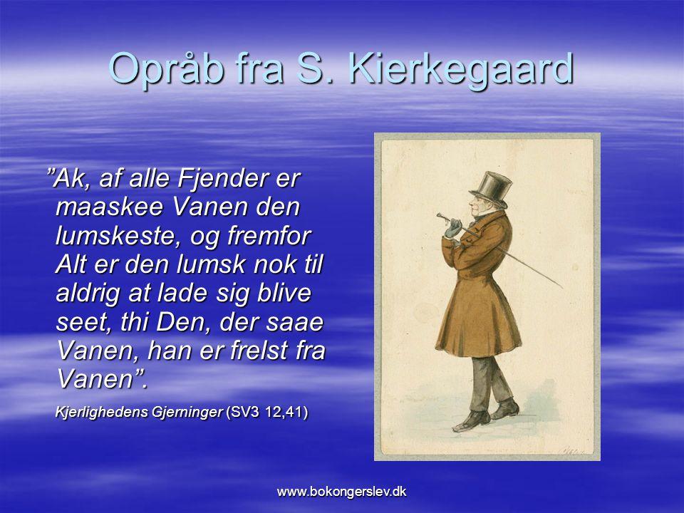 Opråb fra S. Kierkegaard
