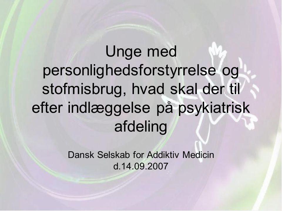 Dansk Selskab for Addiktiv Medicin d.14.09.2007