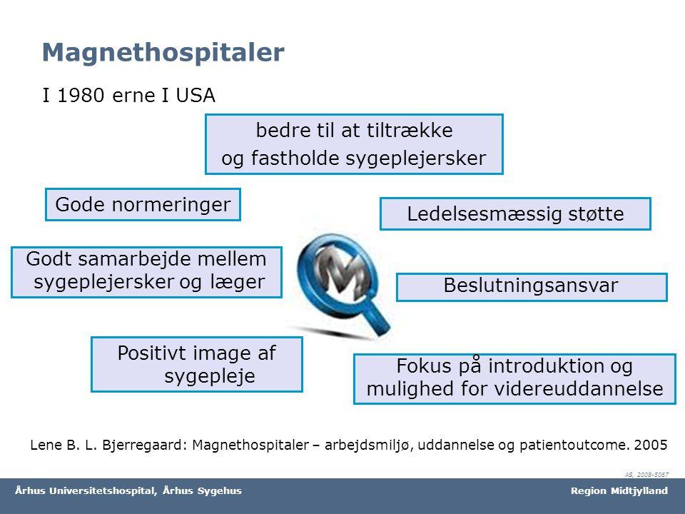 Magnethospitaler I 1980 erne I USA bedre til at tiltrække