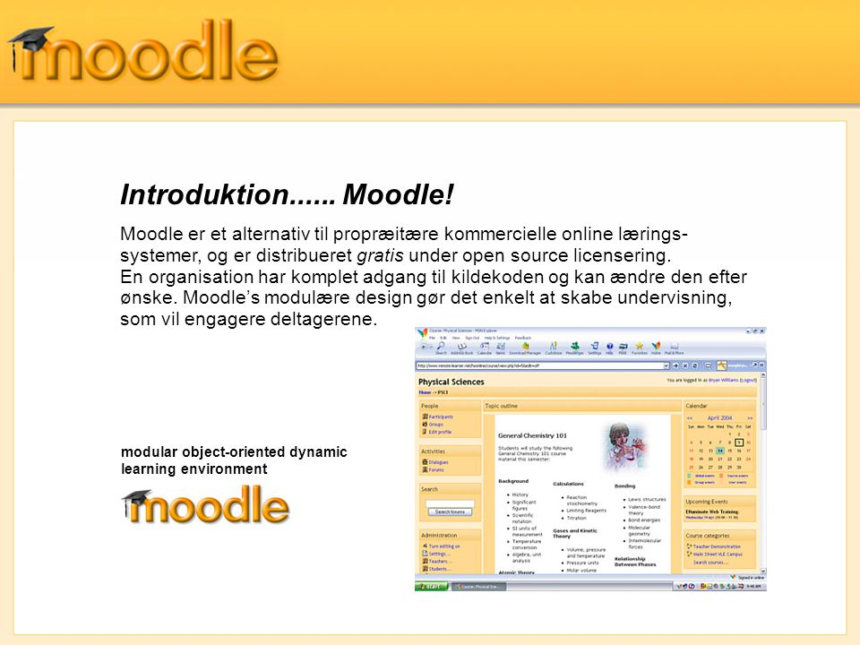 Introduktion...... Moodle!