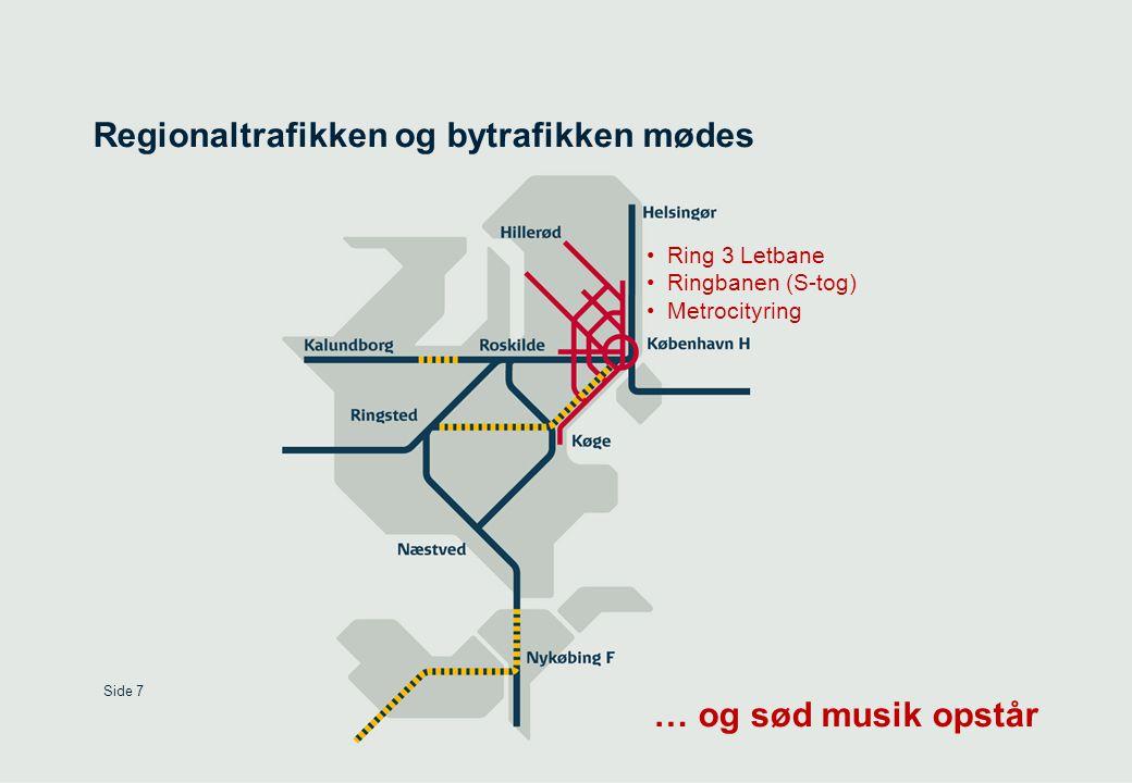 Regionaltrafikken og bytrafikken mødes